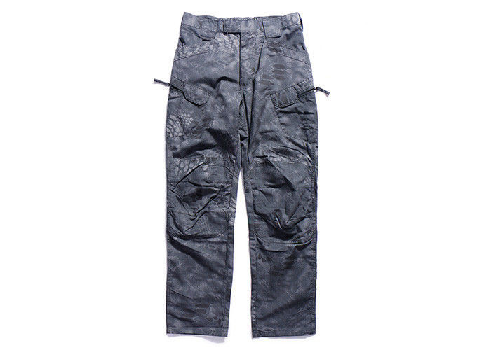 OEM Military Tactical Combat Pants , Combat Camouflage Trousers For Poiice / Air Force