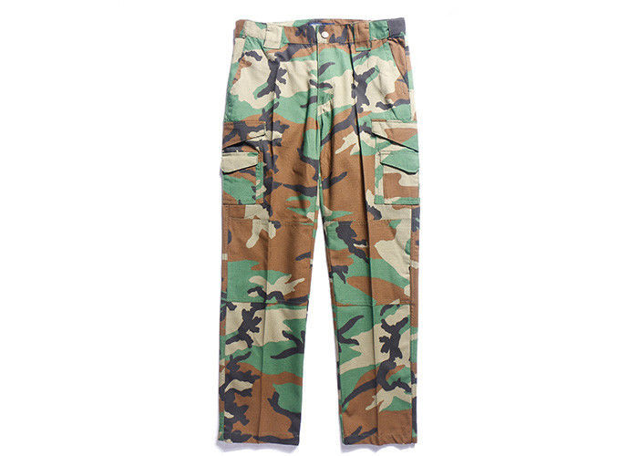 Woodland Multicam Tactical Combat Pants Military Grade For Outdoor Duty