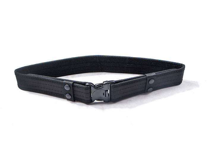 Breathable Comfortable Military Web Belt With Ventilation Holes For Military Uniforms